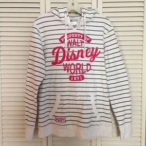 Striped Hoodie Property of Walt Disney World